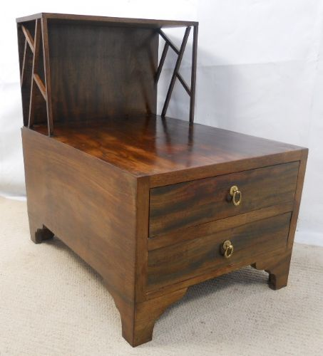 Mahogany Chest Display Stand